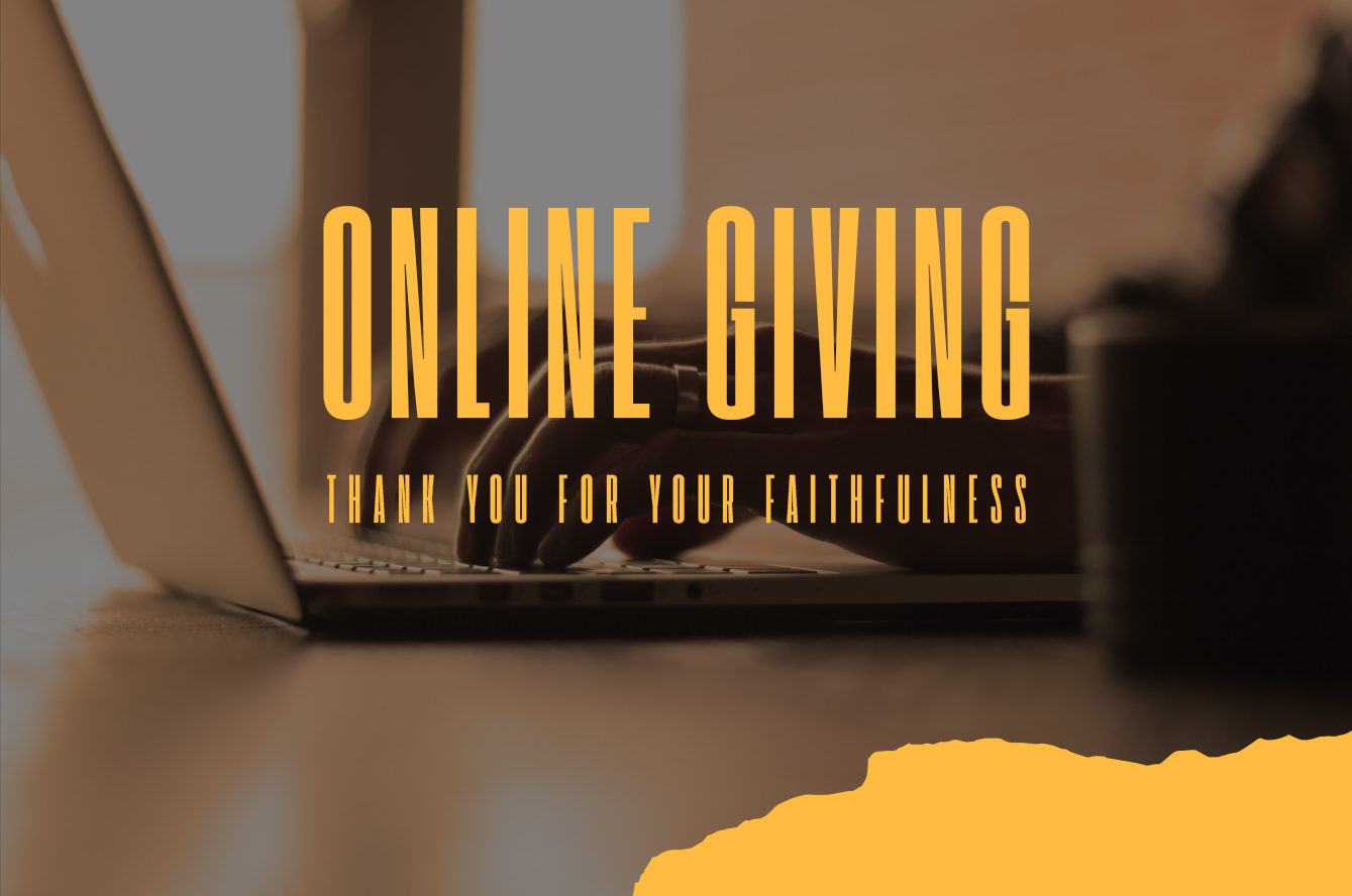 Online giving - web
